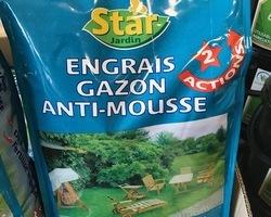 ENGRAIS GAZON ET ANTIMOUSSE