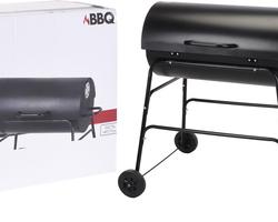 barbecue charbon de bois 1/2 tonneau