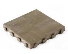 Dalle de terrasse composite 40 x 40 cm