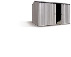 ABRI METALREF. DERBY,11M², 300 X 366 CM