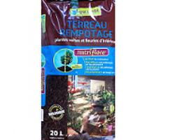 TERREAU PLANTES VERTES ET FLEURIES 20L