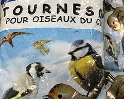 GRAINE TOURNESOL POUR OISEAUX